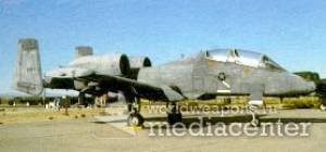 Fairchild republic A-10A Thunderbolt